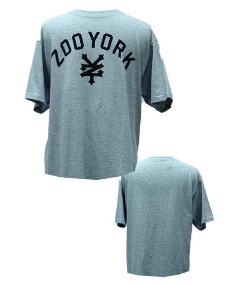 Zoo York Mens T-Shirt [Heather Gray]