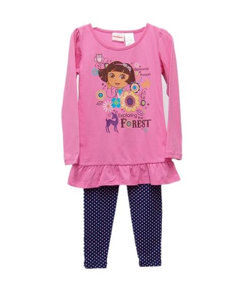 Dora Girls 2 Piece Set [Pink]