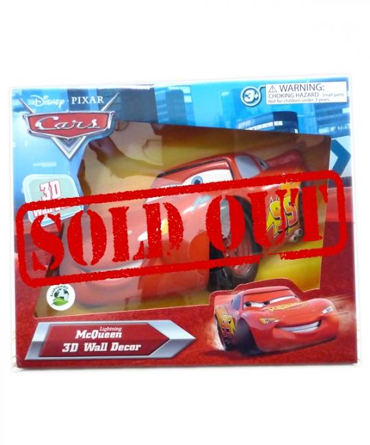 Disney Pixar Wallables - Cars McQueen
