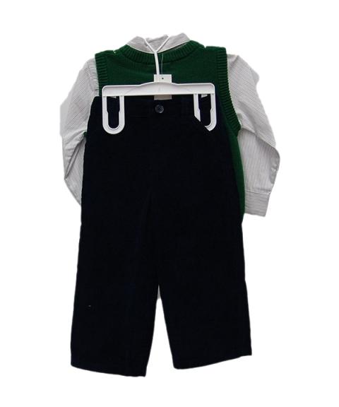Cherokee Baby Boy 3 Piece Set [Green]
