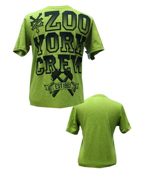 Zoo York Mens T-Shirt [Lime Green]