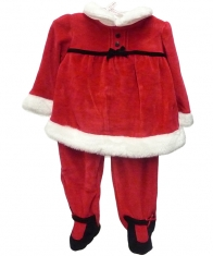 Layette Santa Suite Baby Girls [Red]