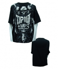 Tapout Mens Long Sleeve Shirt [Black]