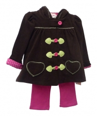 Kids Headquarters Baby Girls 3 Piece Set [Assorted]